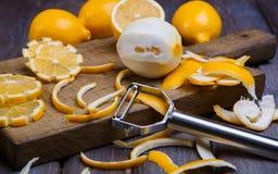 Baixos limões chaves Fotografia de Stock Royalty Free