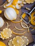 Baixos limões chaves Imagem de Stock Royalty Free