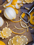 Baixos limões chaves Imagem de Stock