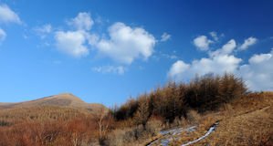 Baiyun Mountain Royalty Free Stock Photography