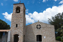 BAJ SARDINIA, SARDINIA/ITALY - MAJ 22: Kościół Francisca Obraz Royalty Free