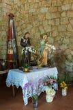 BAJ SARDINIA, SARDINIA/ITALY - MAJ 22: Kościół Francisca Zdjęcie Stock