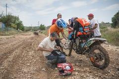 Baja Aragón 2013 Imagenes de archivo