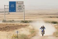 Baja Aragón 2013 Imagen de archivo libre de regalías