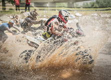 Baja Aragon 2013 Photo stock