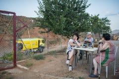 Baja Aragon 2013 Fotografering för Bildbyråer