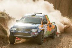 Baja Aragon 2013 Royalty Free Stock Photos