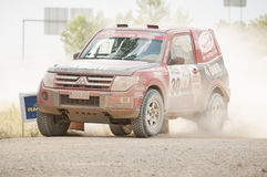Baja Aragon 2013 Stock Photo