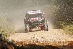 Baja Aragon 2014. XXXI Competition Edition Baja Aragon (Spain), FIA World Cup for Cross Country Rallies Royalty Free Stock Photos