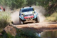 Baja Aragon 2014. XXXI Competition Edition Baja Aragon (Spain), FIA World Cup for Cross Country Rallies Stock Image