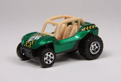 Baja Bandit. The Baja Bandit in metallic green is Matchbox number 90 of 100 for 2008, packaged id nbr m5347 stock photos