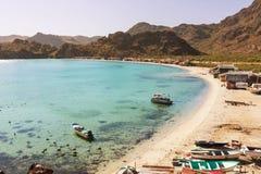Baja. California beach Royalty Free Stock Photo