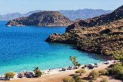 Baja California. Landscapes Royalty Free Stock Photo