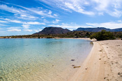 Baja California landscapes Royalty Free Stock Photo