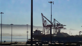 Baja California portplats royaltyfria foton