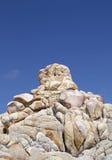Baja california rocks Royalty Free Stock Photos