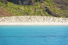 Baja California strand Arkivbild