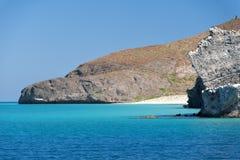 Baja California strand Royaltyfri Foto