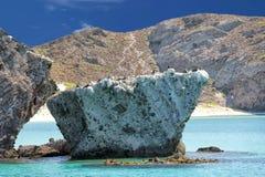 Baja California strand Fotografering för Bildbyråer