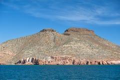 Baja California strand Arkivfoto