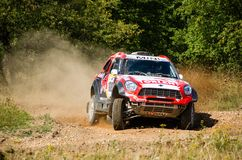 Baja Poland 2015- Polish cross-country rally Stock Photos