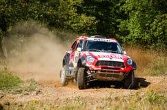 Baja Poland 2015- Polish cross-country rally stock photos