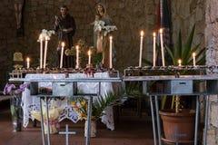 BAJA SARDEGNA, SARDINIA/ITALY - 22 MAGGIO: Chiesa di Francisca Fotografia Stock Libera da Diritti