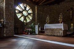 BAJA SARDEGNA, SARDINIA/ITALY - 22 MAGGIO: Chiesa di Francisca Immagine Stock Libera da Diritti