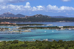 Baja Sardinia - The Island of Sardinia - Italy Stock Images