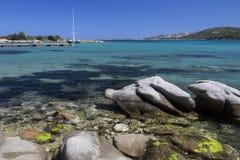 Baja Sardinia - The Island of Sardinia - Italy Royalty Free Stock Photos