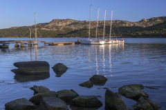 Baja Sardinia near Palau - Sardinia - Italy Stock Images