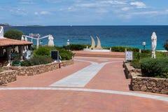 BAJA SARDINIA, SARDINIA/ITALY - MAY 22 : Baja Sardinia in Sardin Stock Images