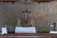 BAJA SARDINIA, SARDINIA/ITALY - MAY 22 : Church of the Francisca Royalty Free Stock Photo