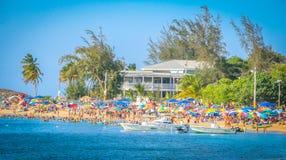 Пляжный комплекс Пуэрто-Рико baja Vega Стоковое Фото