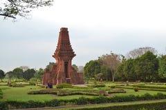 Bajangratu寺庙 免版税库存图片