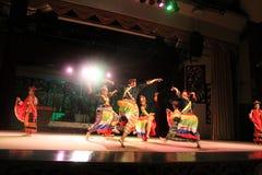 BAJAU aboriginal dance sarawak. BAJAU aboriginal dance performed at cultural village sarawak Royalty Free Stock Image