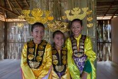 Bajau etnisch traditioneel kostuum royalty-vrije stock afbeeldingen