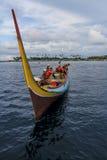 Bajau fiskare av Sabah Royaltyfria Foton