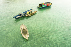 Bajau floating boat Stock Photography