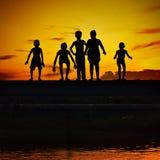 Bajau Kids Stock Photography