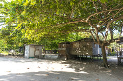 Bajau village Stock Photo