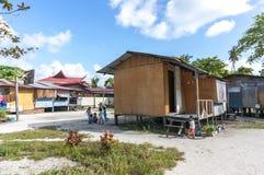 Bajau village Royalty Free Stock Photos