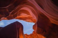 Baje el barranco del antílope, Arizona los E.E.U.U. fotografía de archivo