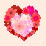 Baje el corazón ilustración del vector