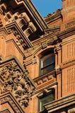 Baje el detalle del edificio de Manhattan Fotografía de archivo libre de regalías