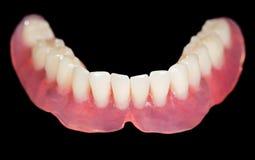 Baje la dentadura Fotos de archivo