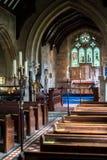 BAJE LA MATANZA, GLOUCESTERSHIRE/UK - 24 DE MARZO: Visión interior o foto de archivo libre de regalías