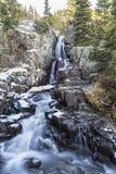 Baje las caídas continentales cerca de Breckenridge Imagenes de archivo