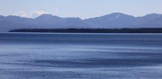 Baje las caídas, parque nacional de Yellowstone Fotos de archivo libres de regalías