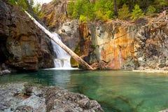 Baje a Myra Waterfalls Imagen de archivo libre de regalías